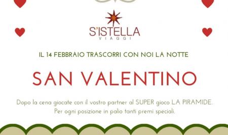 Festeggia con noi San Valentino !